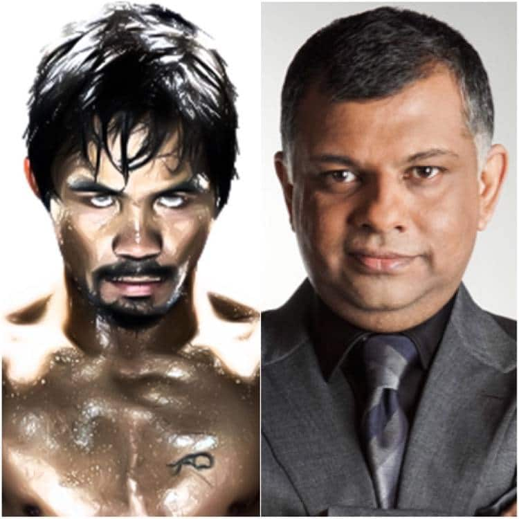 Manny Pacquiao and AirAsia Tony Fernandes