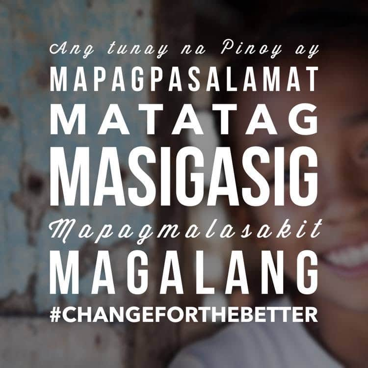 Five Core Filipino Values - Change for the Better