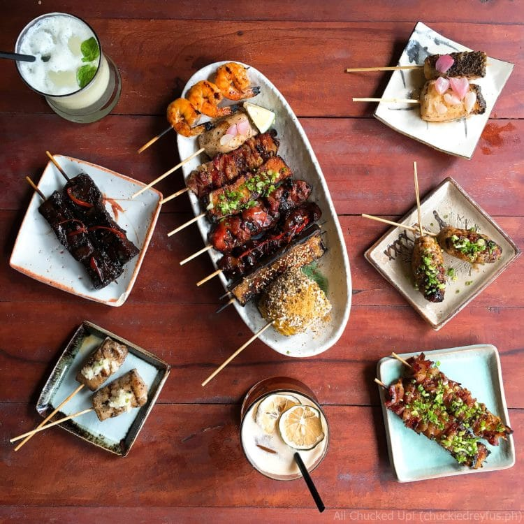 Liberty Asian Refuge + Bar - Assorted Skewers