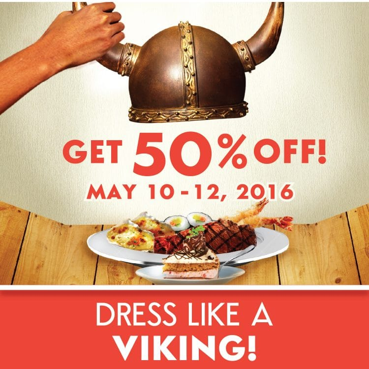 Vikings Luxury Buffet Restaurant Cebu