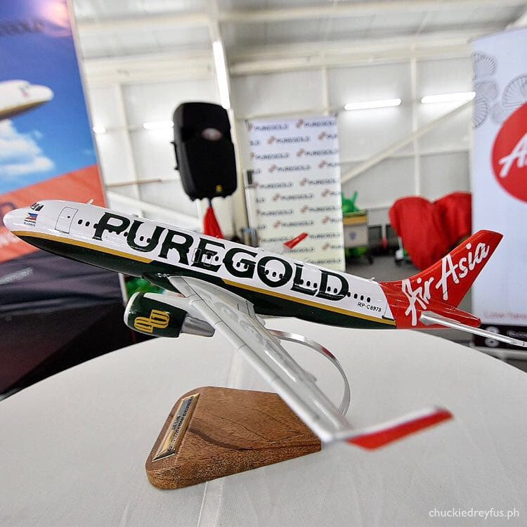 Puregold Livery - Philippines AirAsia - Clark International Airport