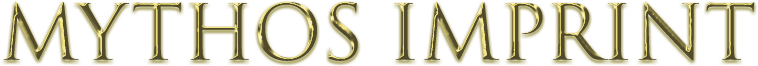 Mythos Imprint Text Logo