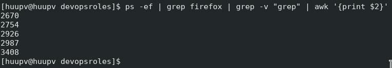 How to kill specific process in Linux 02