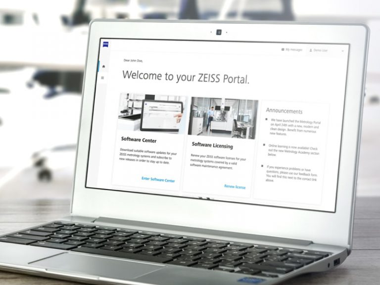ZEISS Metrology Portal UX Design