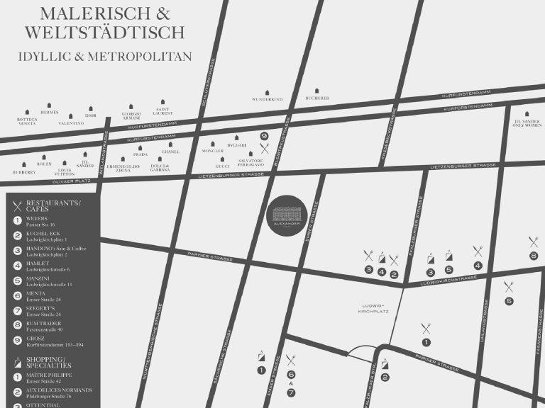ALEXANDER Berlin Lageplan