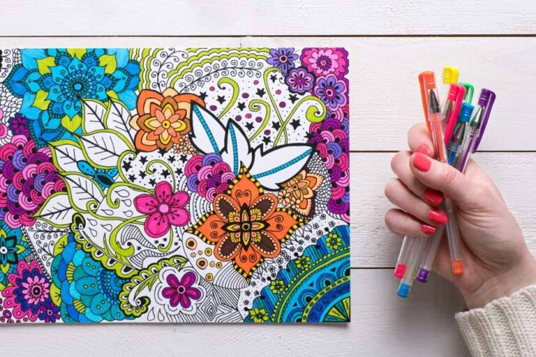 Mandala Colouring Books For Adults