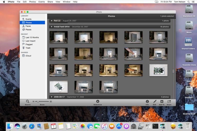 Where can you download iPhoto 9 Mac OS full version free