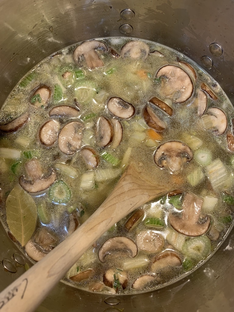 This immune boosting soup recipe has been in my folder of things to make for two solid years, so I decided last week it was about time to make it.