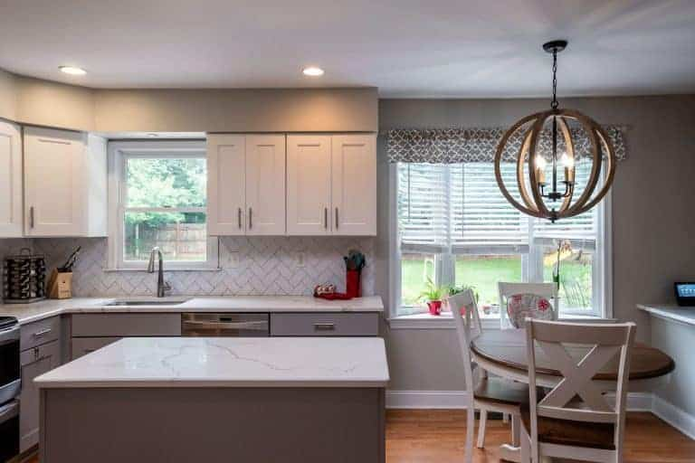 Kitchen design by home remodeling contractor in bucks county pa