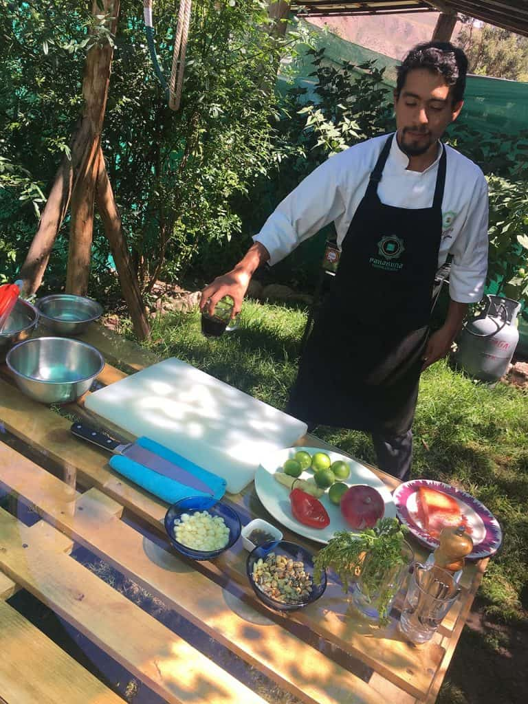 Cooking classes in Urubamba Sacred Valley