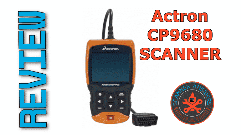 Actron CP9680 AUTOSCANNER review