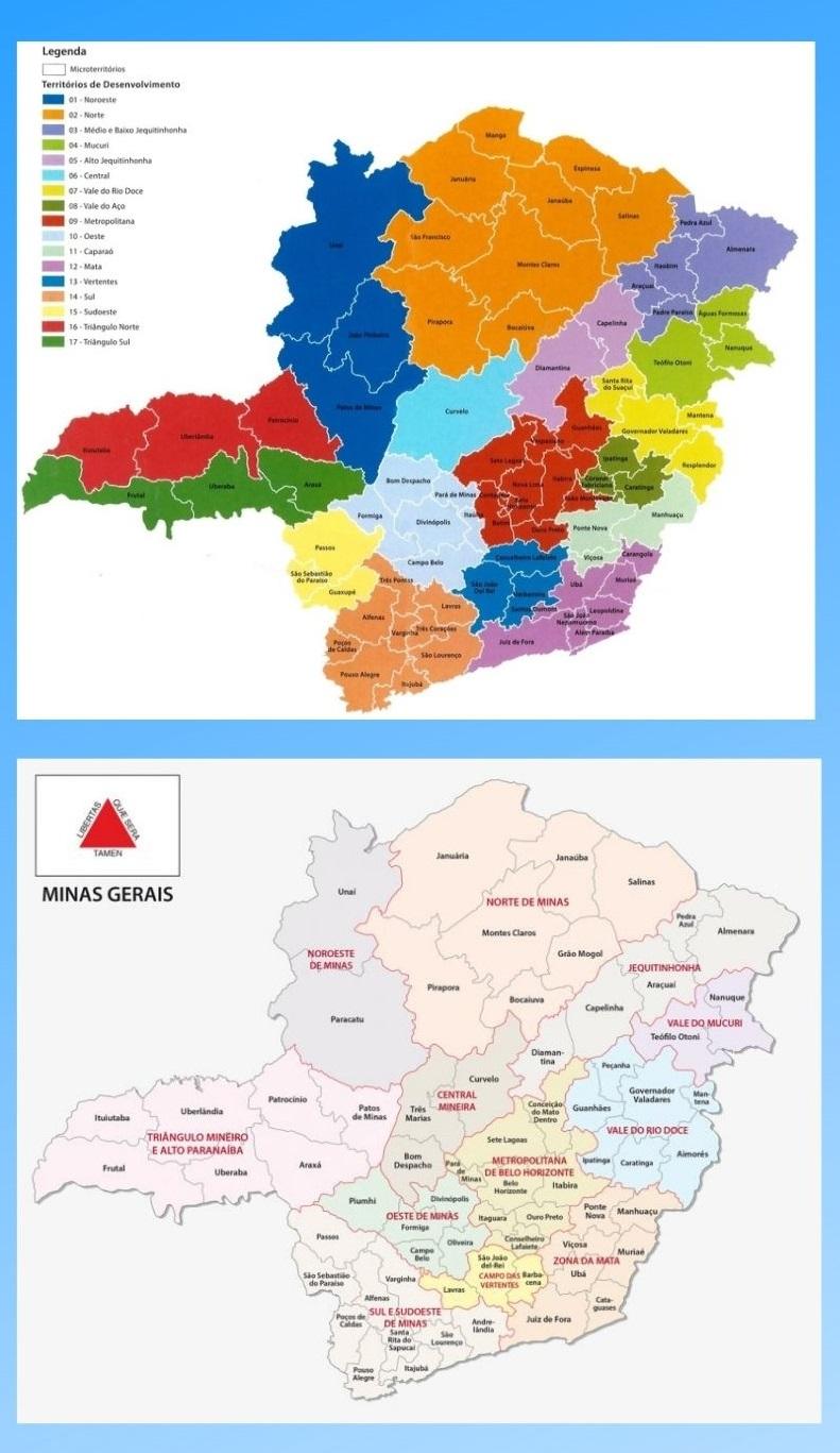 Infográfico Atrações Turísticas de Minas Gerais 2