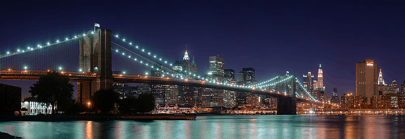 Brooklyn Bridge during the US Open