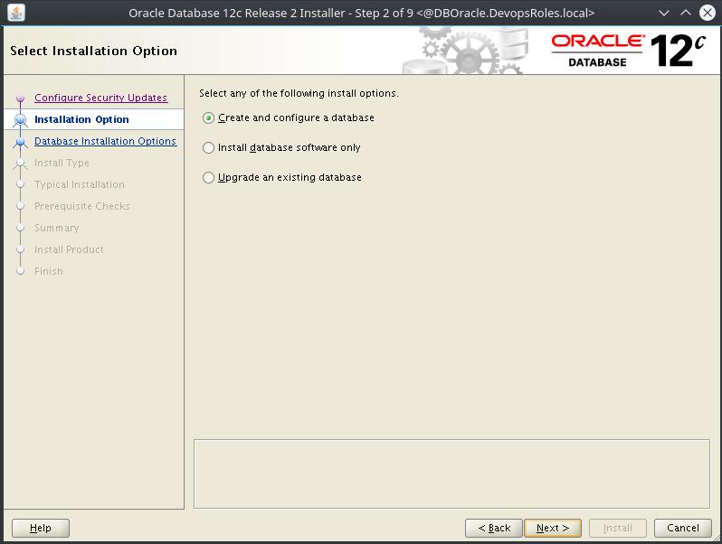 Install Oracle Database 12c on Centos 7