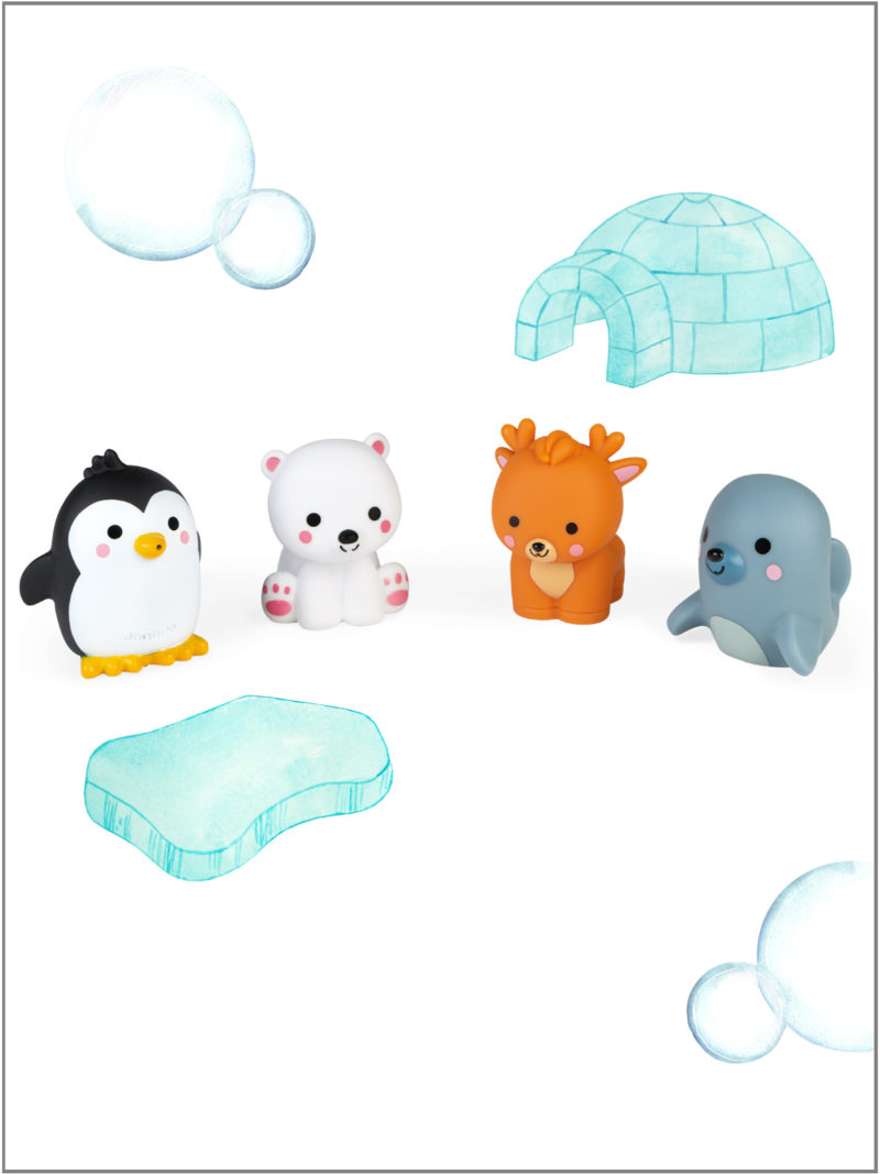 frederickandsophie-kids-toys-janod-france-bath-animals-arctic