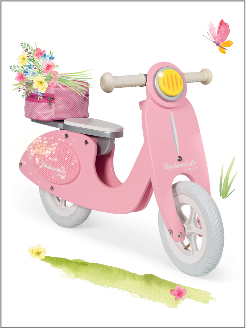 frederickandsophie-kids-toys-janod-france-scooter-pink-outdoor