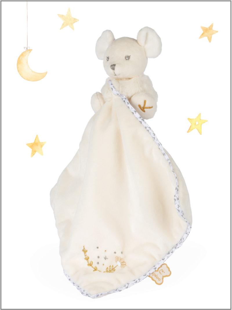 frederickandsophie-kids-toys-kaloo-france-comforter-mouse-perle-doudou