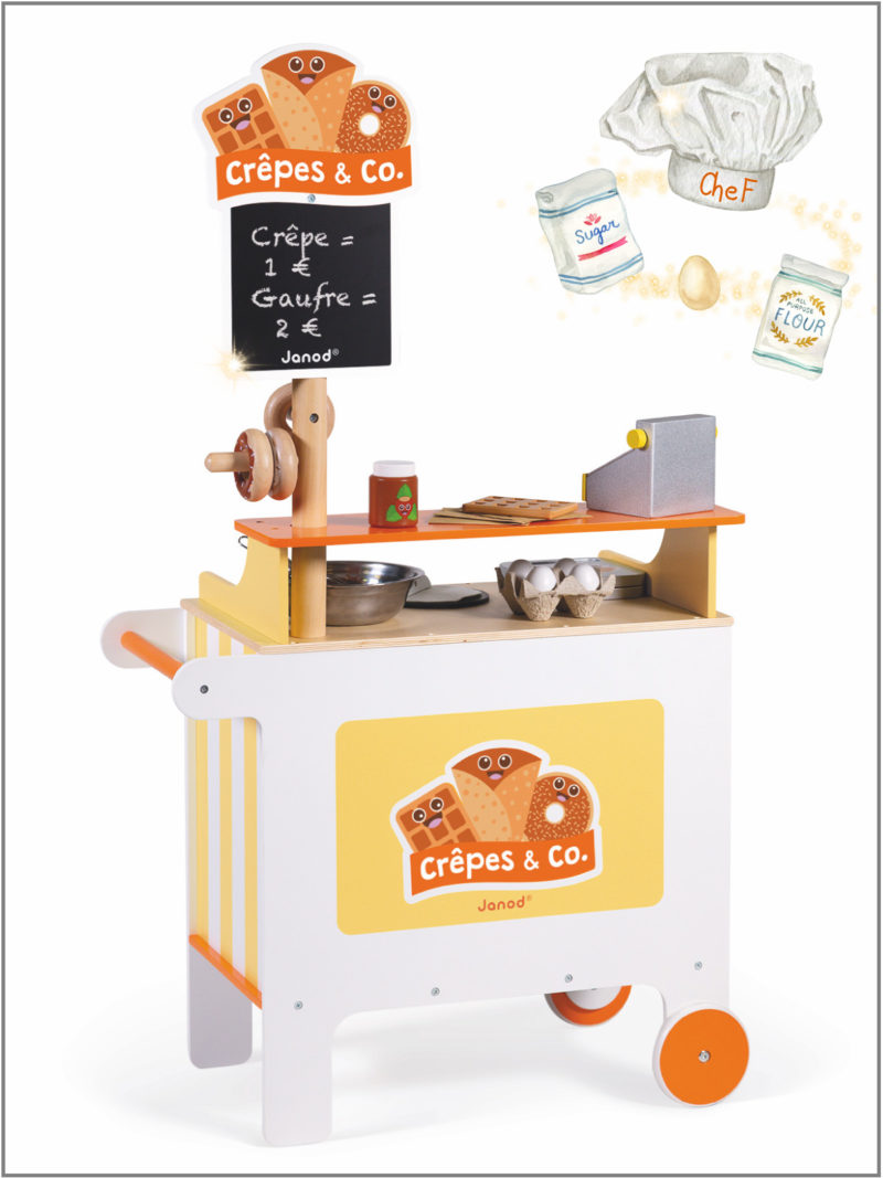 frederickandsophie-kids-toys-janod-france-pretend_play-crepe-stand-waffle-chef