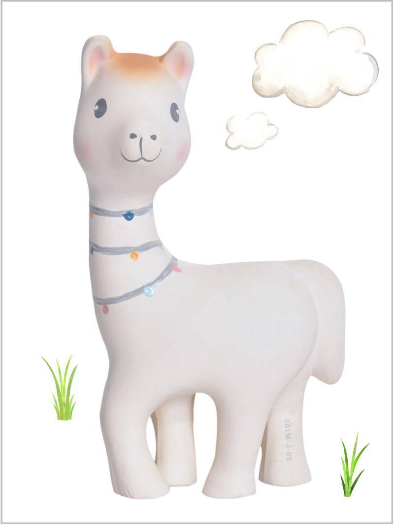frederickandsophie-kids-baby-toys-tikiri-teething-toy-rattle-lilith-llama-rubber-organic
