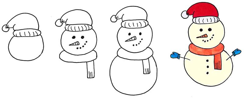 easy christmas doodles 10 cute christmassy bullet journal doodles easy christmas doodles 10 cute