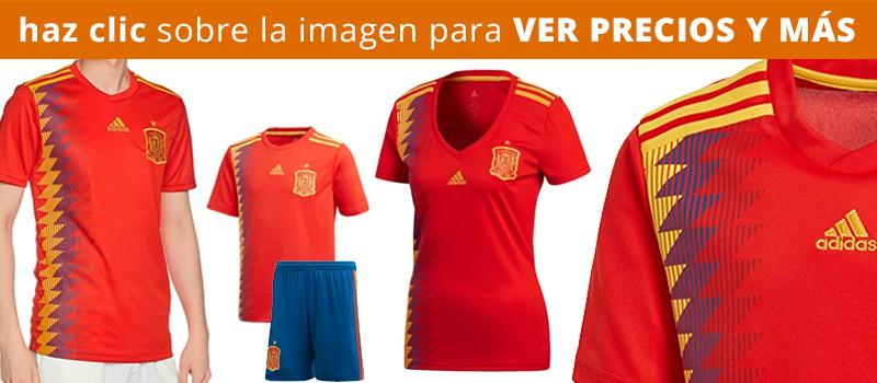 Comprar camiseta España Mundial Rusia 2018