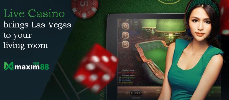 Maxim88 Live Casino