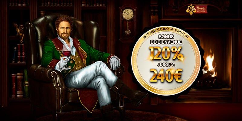 Montecryptos bonus de bienvenue
