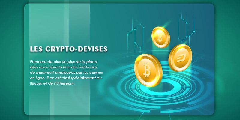 Les crypto-devises