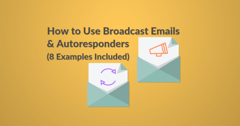 Using broadcast emails vs autoresponders featured image