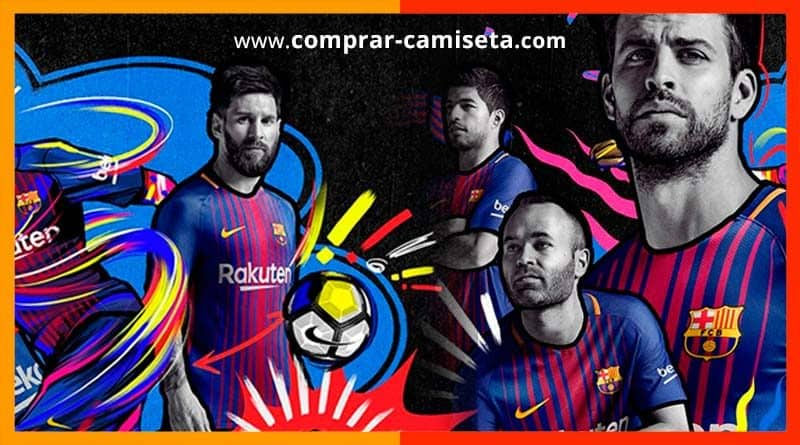 comprar la nueva camiseta del Barcelona