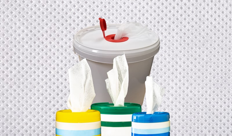 Wipes Bucket and Canisters