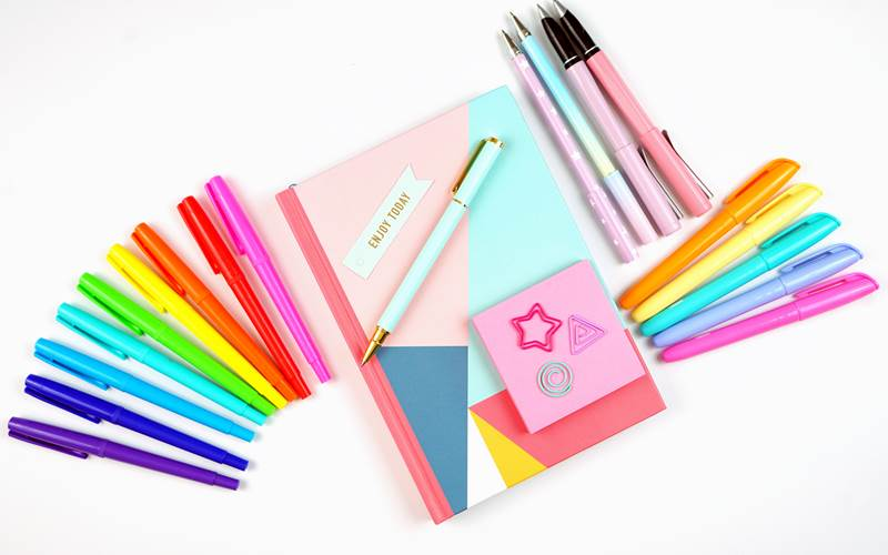 A list with the best bullet journal supplies