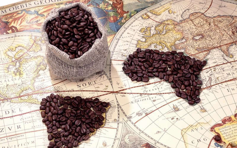 origines café en grains