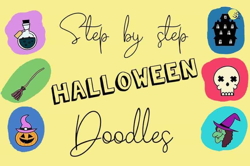 Easy Halloween Doodles