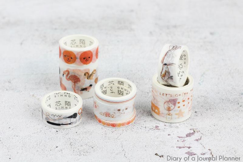 fall washi tape set