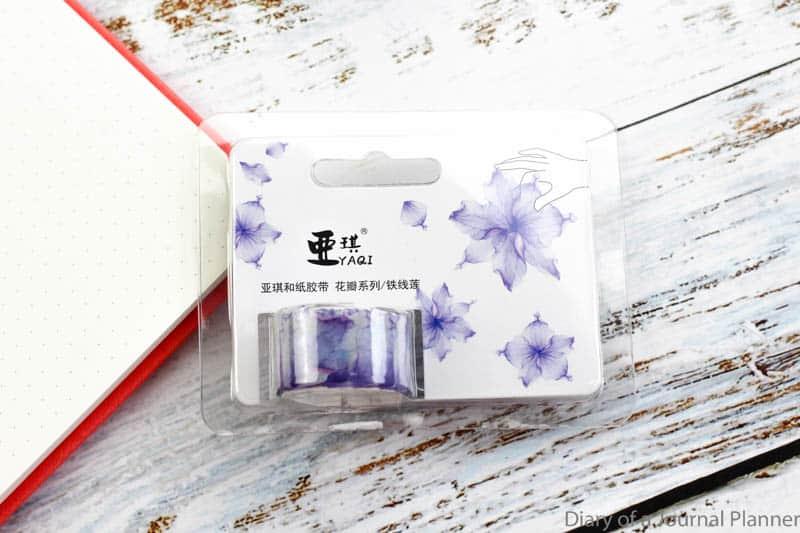 the washi tape petals