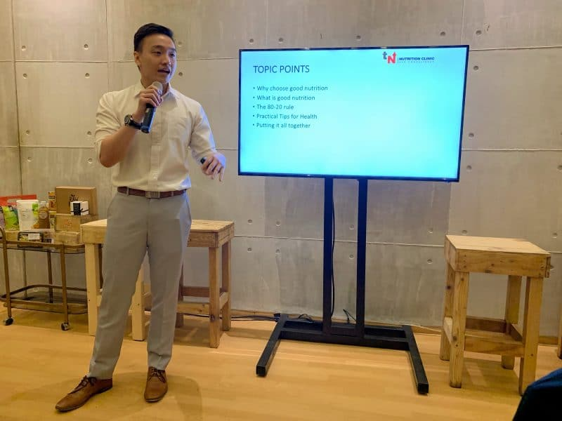 honestbee - tim ting - tim nutrition