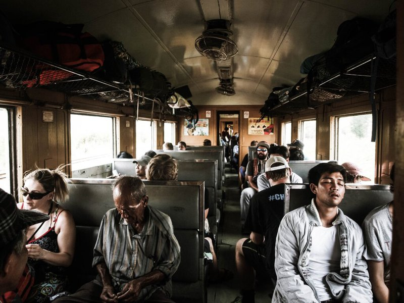 Ingen søvn på backpacking rejse
