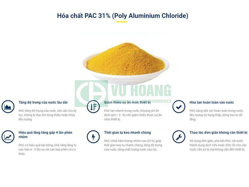 PAC 10% -17% – Poly Aluminium Chloride lỏng