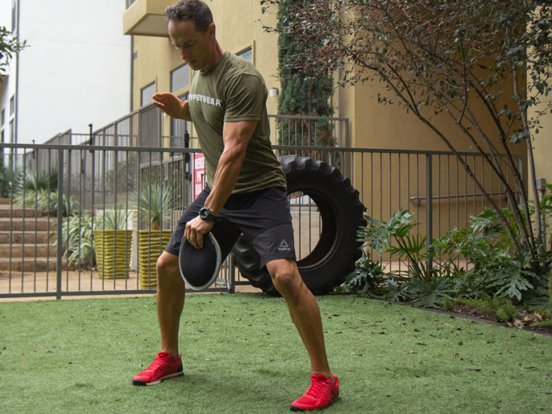 home gym workout routine grab