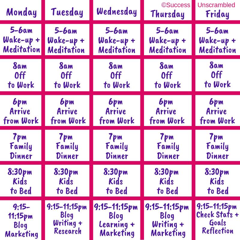 Blogging Schedule - Image - 3