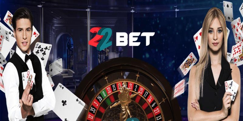 live casino of 22bet