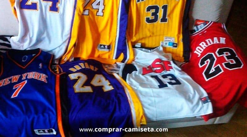 camisetas de baloncesto baratas en Ebay