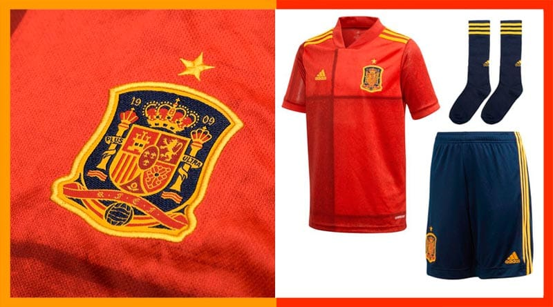 Camiseta España Eurocopa 2020 Comprar camiseta selección
