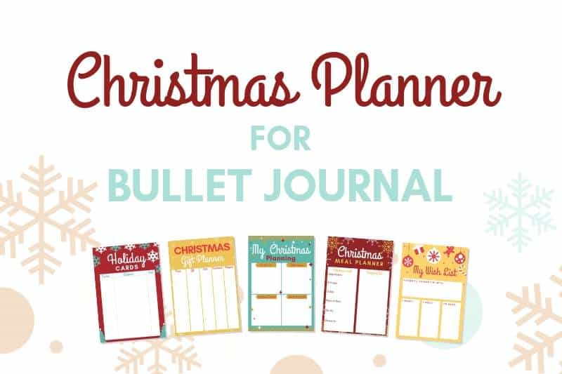 Free Christmas planner printables to get it all done this season
