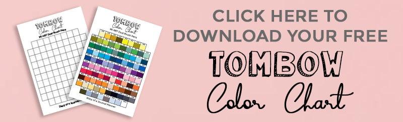 Printable tombow color chart