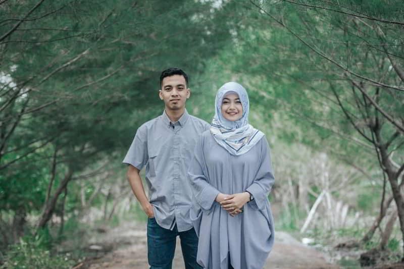 prewedding hijab kekinian