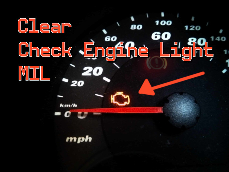 Check Engine Light MIL on