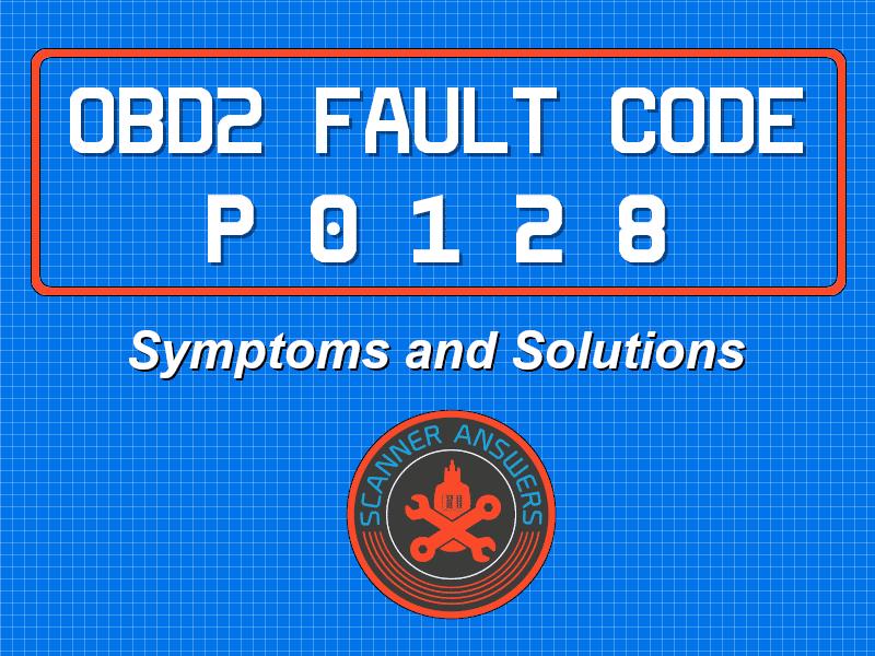 P0128 OBD2 Trouble Code