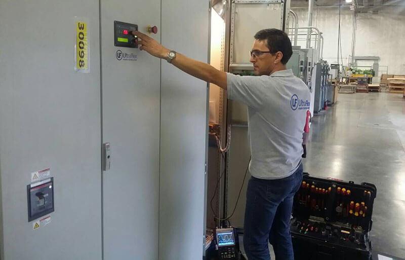 Induction mashine technical support